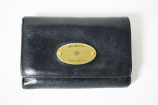 Mulberry French Purse Wallet Black Leather