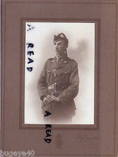 WW1 young officer HLI Highland Light Infantry Photo by Lafayette