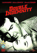 Double Indemnity [DVD] Film Noir Classic - Thin Box Edition - Free P&P