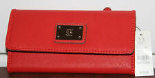 New York & Company Women's Red Trifold Wallet (NWT)