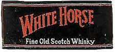 "Asciugamano da bar in cotone ""White Horse Whisky"""