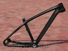 Full Carbon Toray Carbon Matt 26ER Mountain Bike Frame MTB Bicycle Frame 14.5""