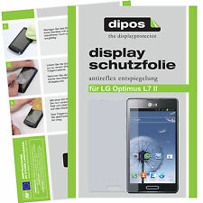 LG Optimus L7 II Schutzfolie matt Displayschutzfolie Folie Antireflex dipos