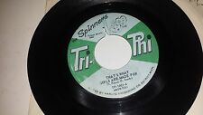 THE SPINNERS Heebie Jeebies's / That's What Girls Are Made TRI PHI 1001 SOUL 45