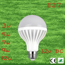 2pcs/lot Led Bulbs 9w 12v DC E27 Lampada Led 12v Ampoule Led Filament Led Energy