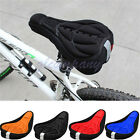 Bicycle Silicone Saddle Cycling Pad Seat 3D Sport Bike Gel Cover Soft xc Cushion