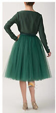 Women Girl Prom Dress Fancy Skirt Five Layers tulle Skirts Adult Tutu Ball Gown