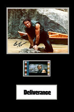 Deliverance Burt Reynolds signed  mini  filmcell ,  fcs3081