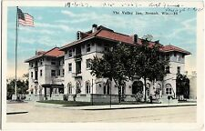 Old NEENAH Wisconsin WI Postcard THE VALLEY INN 1927