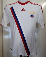 RUSSIA FOOTBALL 2012/13 AWAY SHIRT BY ADIDAS SIZE LARGE BRAND NEW WITH TAGS