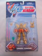 RARE PROMO Gundam Hyper Mode Shining Gundam Mobile Fighter Gold Toy Figure