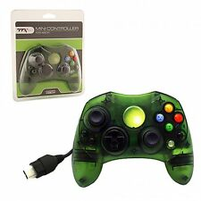 XBOX CONTROLLER S WIRED SOLID CLEAR GREEN FOR THE ORIGINAL XBOX BRAND NEW S