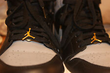 Air Jordan Jumpman Gold Nike Pins - 2 pins per set - 1/2 inch size
