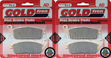 SINTERED HH FRONT BRAKE PADS (2x Sets) TRIUMPH STREET TRIPLE 675 NAKED (FA226HH)