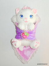 Disney Babies Baby Marie Plush White Aristocats Cat Security Blanket P10