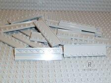 LEGO® 20 x Führungsschiene 2x8 hellgrau 30586 Führung aus 10197 NEUWARE R931