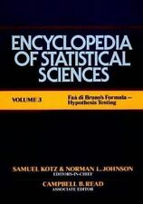 Encyclopedia of Statistical Sciences, Faa di Bruno's Formula to Hypothesis Testi