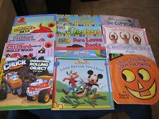 Lot 14 Children's Books for Learning and Reading