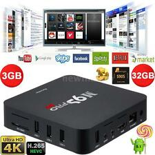 M9S-PRO UHD Smart Android 5.1 Quad Core 3G/32G TV Box 4K Movie WIFI Media Player