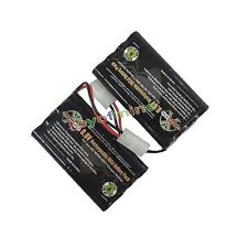 2x Ni-Cd 9.6V 1000mAh batteria ricaricabile Tamiya Connector