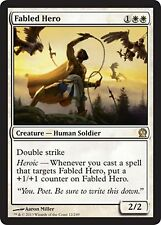*MRM* ENG 4x Héros illustre ( Fabled Hero ) MTG Theros
