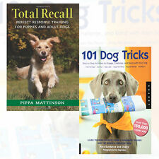Total Recall,101 Dog Tricks 2 Books Collection Set  Paperback Brand New Pack