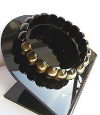 Bracelet Protection lithothérapie Minéral Oeil de Faucon Bijoux Pierre Naturelle