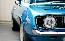 Large Framed Print - Ford Mustang American Classic Muscle Car (Picture Poster)