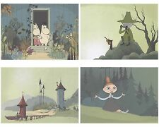 Moomin Set of 4 Posters 24 x 30 cm from Calendar Riviera Set 4 Putinki