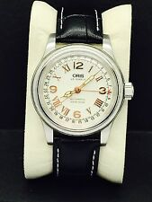 Oris Automatic Pointer Date Big Crown XXL Pilot Military 43mm Men's Watch