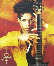 PRINCE Programme ACT 1 Tour USA Rare Glossy 30 Page Stunning ! Gold Embossed NPG