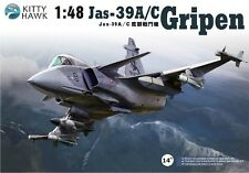 "◆ Kitty Hawk 1/48 80117 SAAB JAS-39A/C ""Gripen"""
