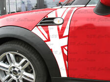 Flaggen Kotflügel-Aufkleber Fender Decal f. BMW MINI COOPER R56 Works Union Jack