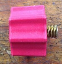 Propane Cylinder Tank QCC High Flow Red Adaptor for Regulators