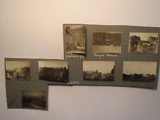 I. Weltkrieg Frankreich - Sedan - Zitadelle - Deutsche Soldaten / 8x Foto