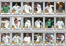 Real Madrid European Champions League winners 2002 football trading cards
