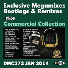 DMC Commercial Collection 372 Mixes, Megamixes & Two Tracker DJ Double Music CD