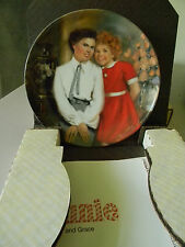 """""""Annie and Grace"""" Knowles Collector Plate- Third in Annie Series 1983"""