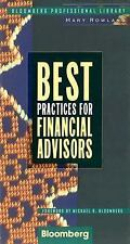 Best Practices for Financial Advisors (Bloomberg Professional Library) Rowland,