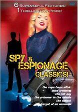 SPY & ESPIONAGE CLASSICS! 6 Movies - New