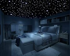 Removable Decal Home Art Mural BedRoom Decor Wall Sticker in th Dark Stars 3D