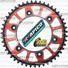 Apico Xtreme Red Black Rear Alloy Steel Sprocket 47T For Honda CR 125 1991 MotoX