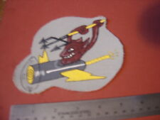 WWII USN VB-15 DEMONS BOMBING FIFTEEN   FLIGHT JACKET PATCH