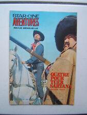 STAR CINE AVENTURES  228 / QUATRE POUR TUER SARTANA  / 1970