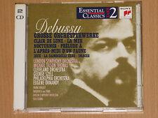 2xCD DEBUSSY ESSENTIAL CLASSICS - LA MER CLAIR DE LUNE  PIERRE BOULEZ GEORGE SZE