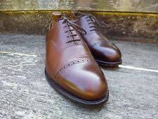 CROCKETT AND JONES BROGUE – BROWN / TAN - UK 8 – SUPERB CONDITION