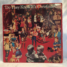 BAND AID Do They Know It's Christmas? 1984 LP Original 2 Feed The World