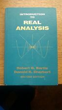 Introduction to Real Analysis by Donald R. Sherbert and Robert G. Bartle...