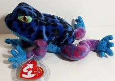 "TY Beanie Babies ""DART"" the FROG - MINT! RETIRED! CHECK OUT MY ITEMS & SAVE $$$"