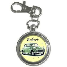 MORRIS MINOR PERSONALISED KEYCHAIN WATCH **CHOOSE ANY NAME**